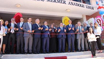 Bakan Eroğlu, Ermaş Lisesini açtı
