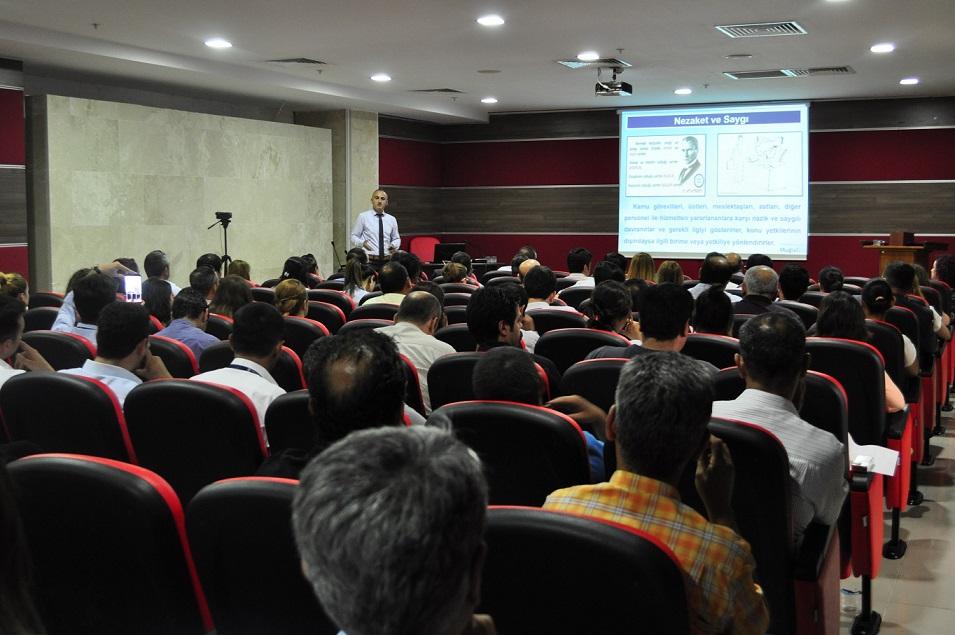 Belediye Personeline Etik Davranış İlkeleri Eğitimi