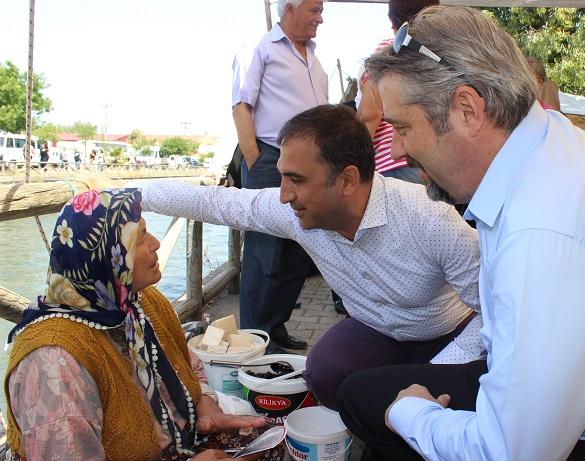 DP milletvekili adayları Fethiye'de