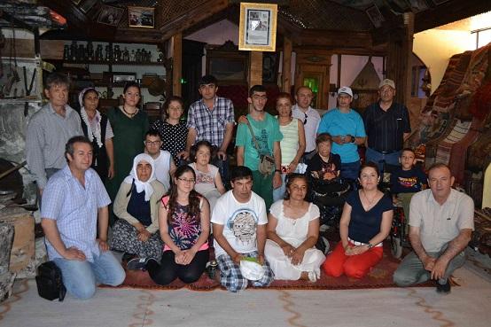 Engelli gençler Fethiye'yi gezdi
