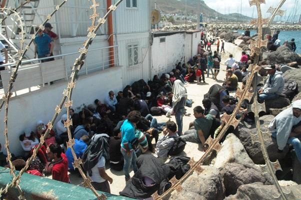 192 kaçak göçmen yakalandı