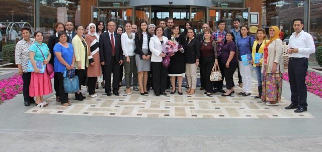 Hülya Çiçek, Can Melek Projesi Çalıştayına katıldı
