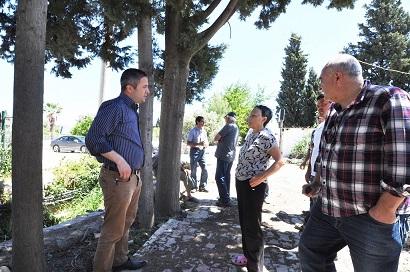 Vatandaşlar ağaçların kesilmesini istemiyor