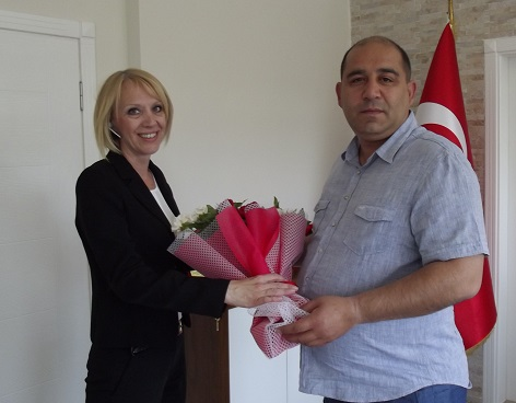 Demirelli'den Kaymakam Özkan'a ziyaret