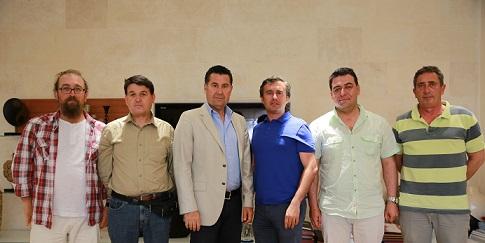 Yelkencilerden Başkan Kocadon'a ziyaret