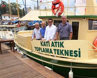 Katı Atık Teknesi göreve başladı