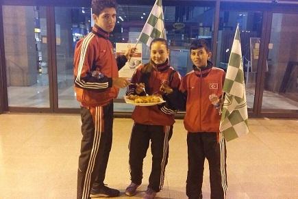Bodrumlu karateci 3. Kez Balkan Şampiyonu