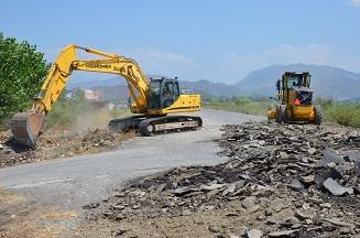 Dalaman Sanayi Sitesi'nin yolları yenileniyor
