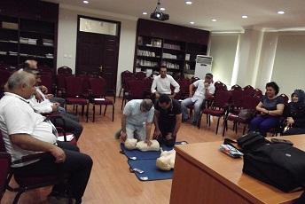Yatağan'da firma çalışanlarına İlkyardım Eğitimi