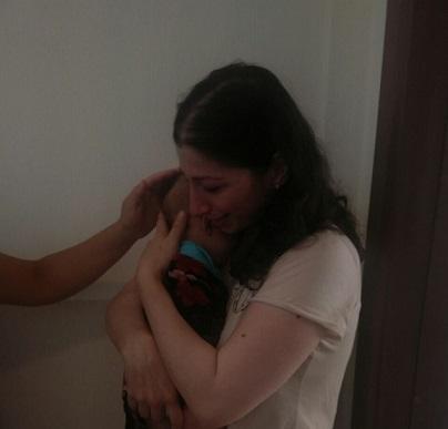 İtfaiye Ekipleri 3 aylık bebeği kurtardı