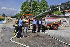 Mahallelere 62 Yangın Söndürme Tankeri