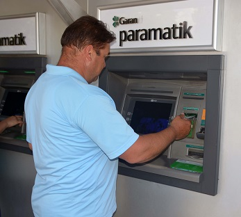 Banka promosyonu personele dağıtıldı