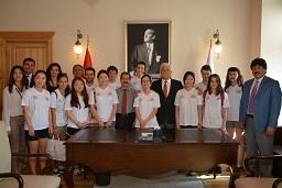 Yabancı öğrencilerden Gürün'e ziyaret
