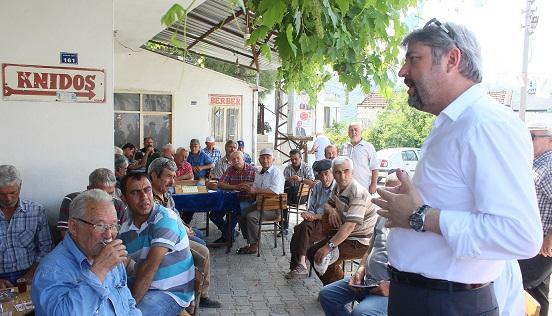 """DP Muğla Milletvekili Adayı Zekai Alper: """"Bugüne kadar ekmeği zorlayarak halkına veren bir rejim yaşanmamıştır"""""""
