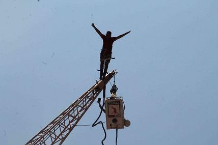 Fethiye'nin yeni heyecanı Bungee Jumping