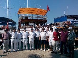 Denizci Öğrenciler bayramlarını kutladı
