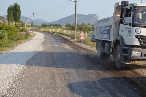 Dalaman-Kapıkargın yolu asfaltlandı
