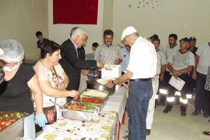 Gürün, Yatağan'da iftar yemeği dağıttı