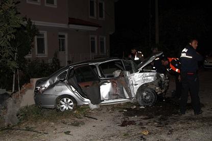 Ortaca'da trafik kazası; 2 ağır yaralı