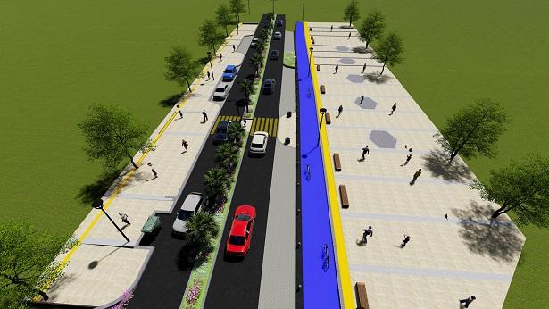 Muğla'nın bulvar ve caddeleri yenileniyor