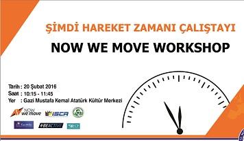 NowWeMove Çalıştayı Muğla'da