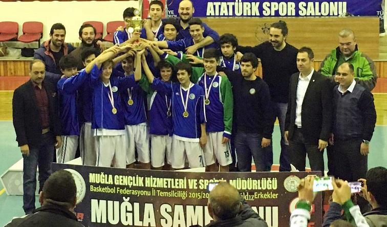 Fethiye Belediyspor namağlup şampiyon