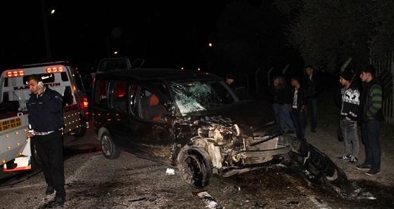 Milas'ta kaza: 5 yaralı