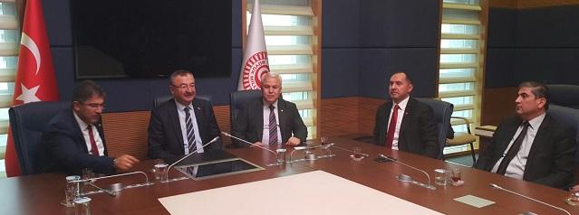 MUTSO heyetinden Ankara çıkarması