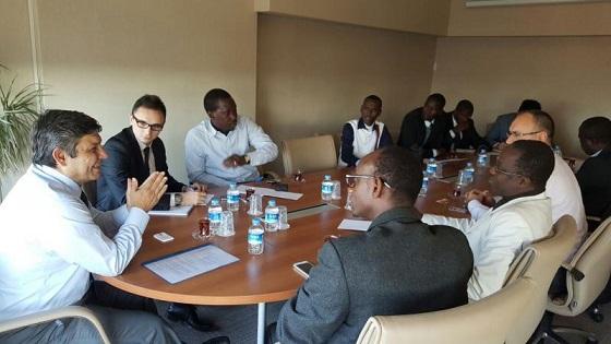 BYGEM, Senegalli gazetecileri ağırladı