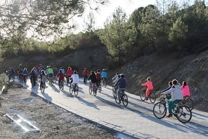 Bisiklet Cumhuriyetinde pedal çevirdiler