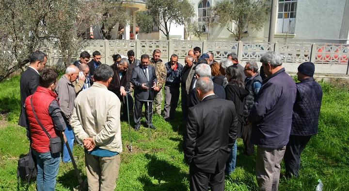 Ula'da çiftçiler bilgilendirildi