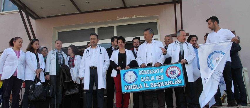 Meslektaşları doktora saldırıyı kınadı
