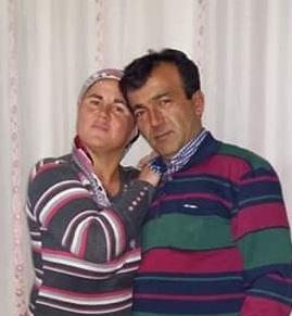 Pusuda öldürülen çift toprağa verildi