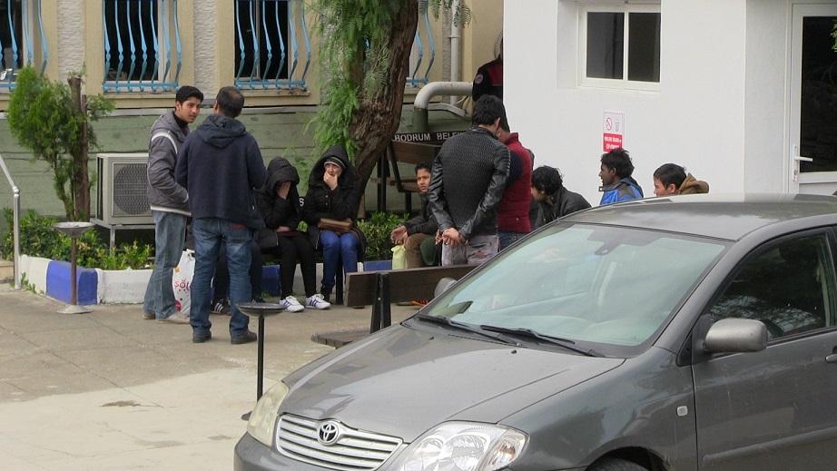 13 mülteci yakalandı