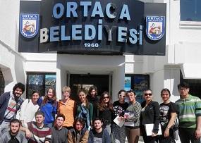 Öğrenciler başkana turizm ve endemik bitkileri sordu