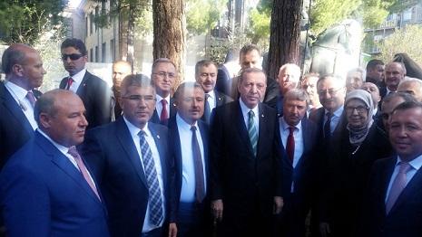 Muğla Heyeti Cumhurbaşkanı Erdoğan'la görüştü