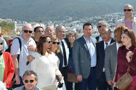 Fransız gazeteci ve yazarlar Bodrum'u tanıtacak