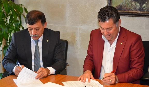Bodrum Belediyesi'nde sözleşme sevinci