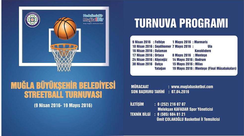 Büyükşehir'den Sokak Basketbolu Turnuvası
