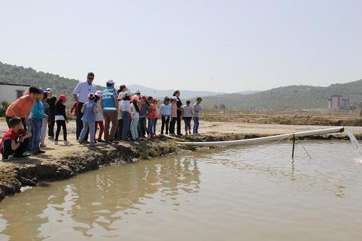 Öğrencilere Balıkçılık Eğitimi verildi.