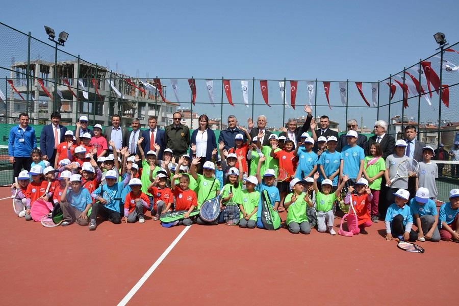 Dalaman Tenis Kortu açıldı