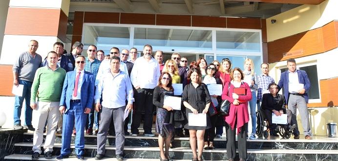 Bodrum Belediyesi yöneticilerine değişim semineri