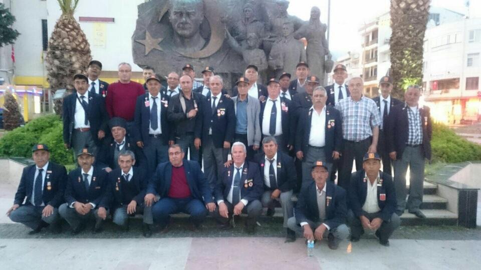 Gaziler, Çanakkale'den döndü