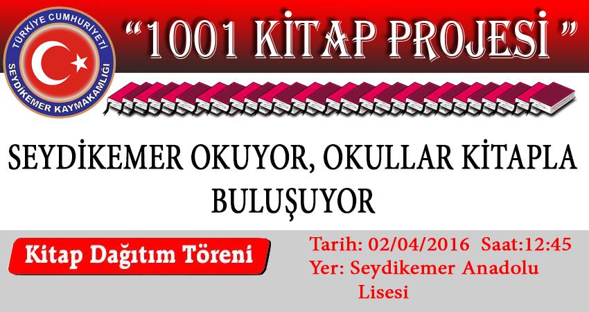 Seydikemer'de 1001 Kitap Projesi