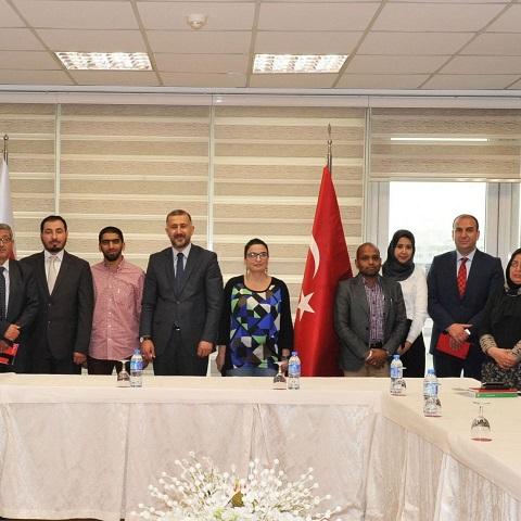Ortadoğu ve Kuzey Afrikalı gazeteciler Türkiye'de