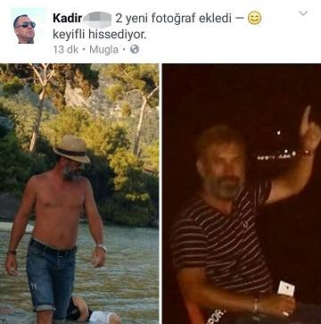 Katili sosyal medya paylaşımı yakalattı