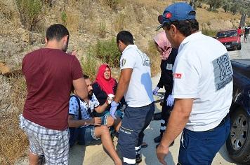 Vidanjör kazaya neden oldu: 9 yaralı