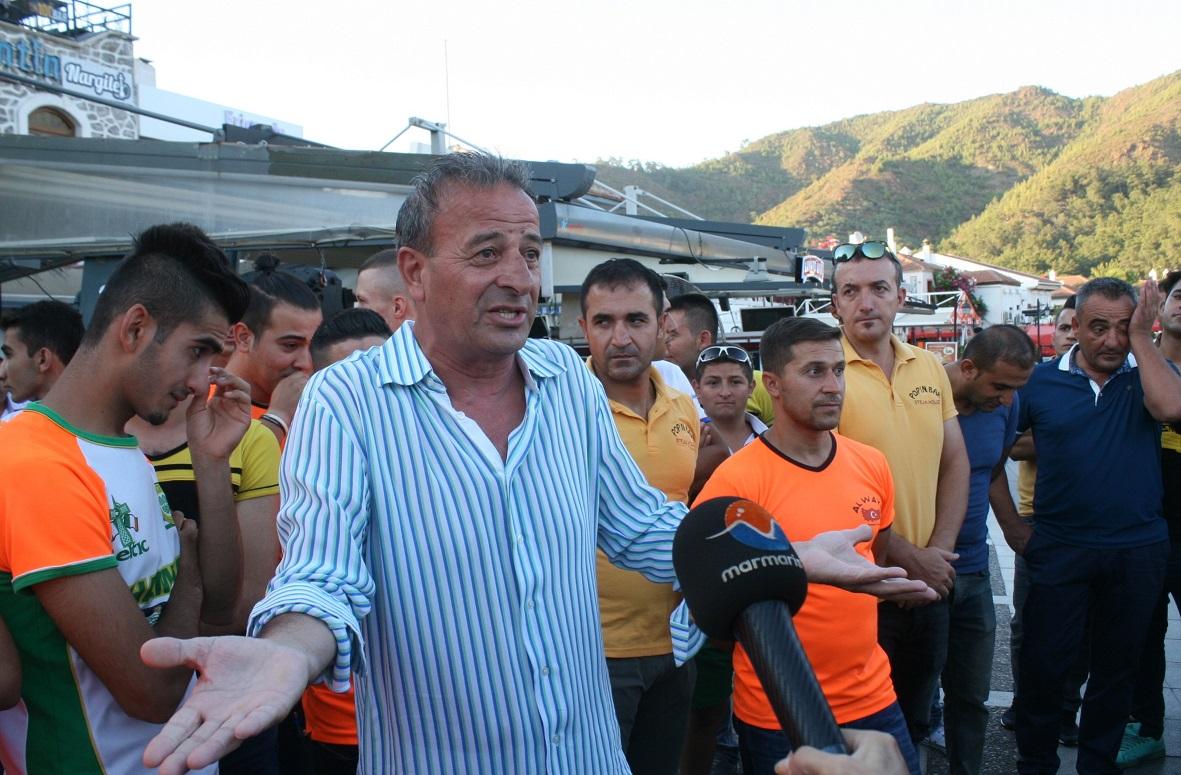 Turizmcilerden Yat Limanı tepkisi