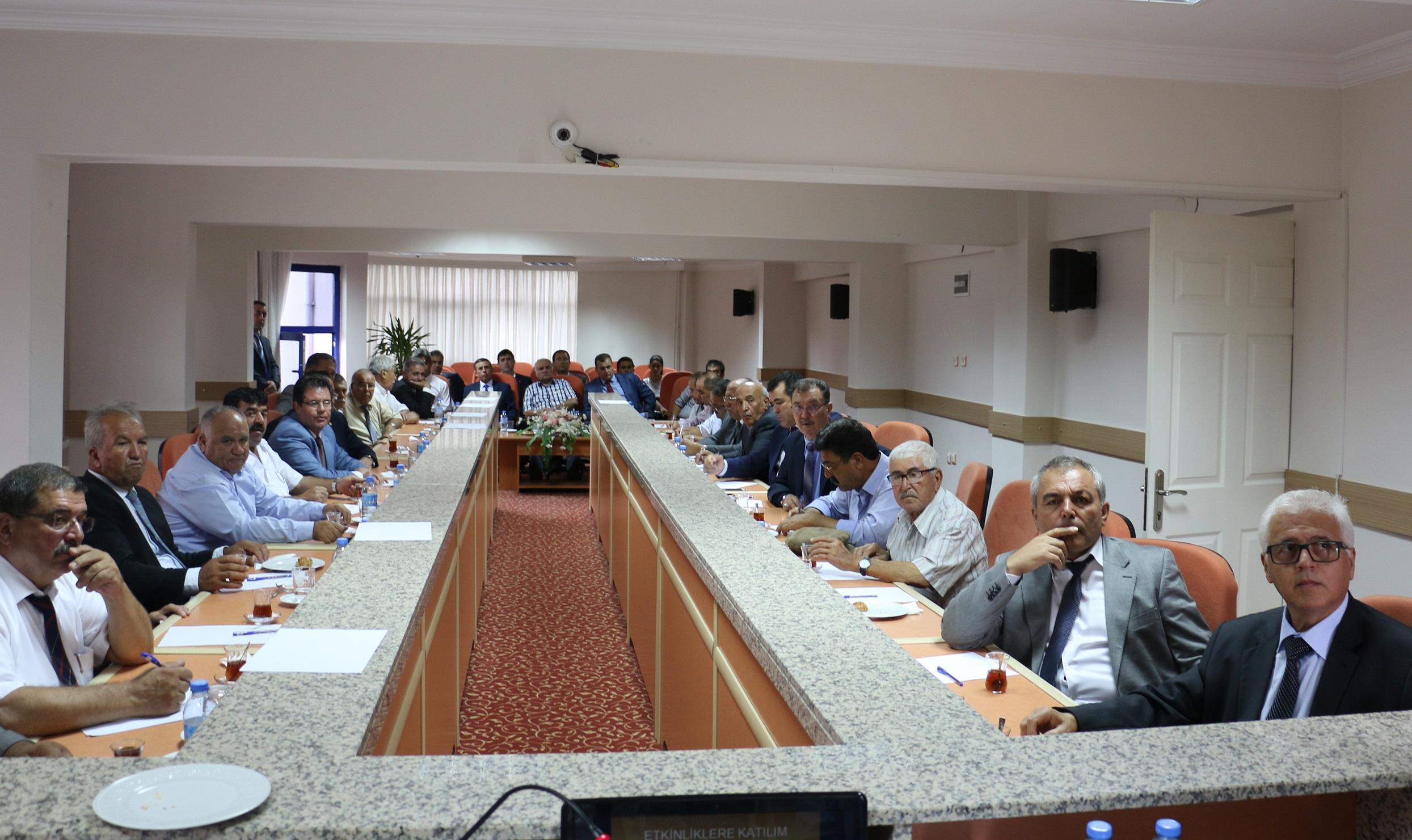 ESOB Başkanlar Kurulu toplandı