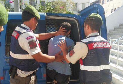 57 kaçak göçmen yakalandı